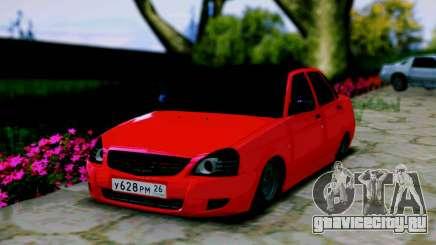 Lada 2170 Priora Спартак Москва для GTA San Andreas