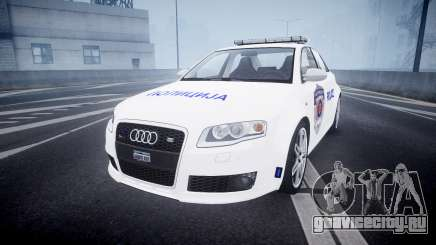 Audi RS4 Serbian Police [ELS] для GTA 4