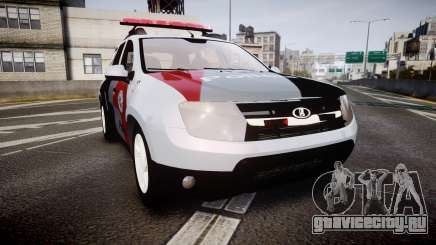 Lada Duster 2015 PMESP [ELS] для GTA 4