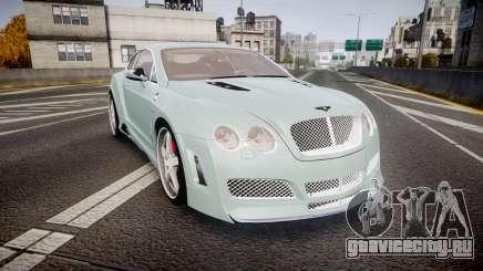 Bentley Continental GT Platinum Motorsports для GTA 4