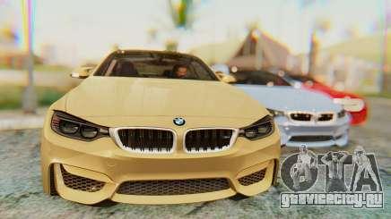 BMW M4 2015 IVF для GTA San Andreas