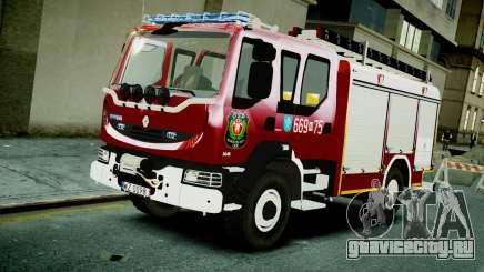 Renault Midlum 300.14 dXi Firetruck для GTA 4