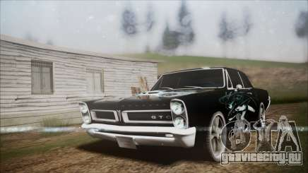 Pontiac GTO Black Rock Shooter для GTA San Andreas