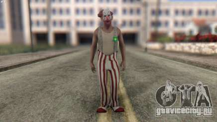 Clown Skin from Left 4 Dead 2 для GTA San Andreas
