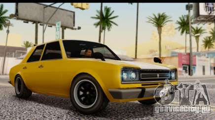 GTA 5 Vulcar Warrener SA Style для GTA San Andreas