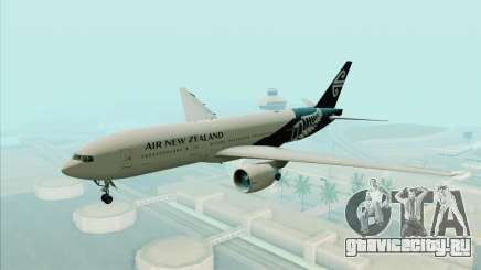 B777-200ER Air New Zealand Black Tail Livery для GTA San Andreas