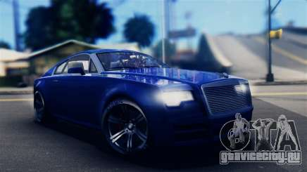 GTA 5 Enus Windsor IVF для GTA San Andreas