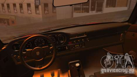 Porsche 911 Turbo (930) 1985 Kit A для GTA San Andreas вид справа