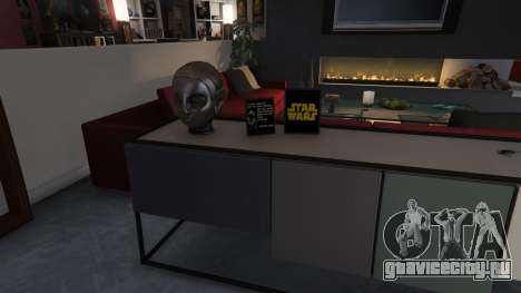Star Wars Posters for Franklins House 0.5 для GTA 5 девятый скриншот