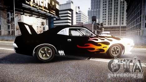 Patriot Vegas G20 Firebomb для GTA 4 вид слева