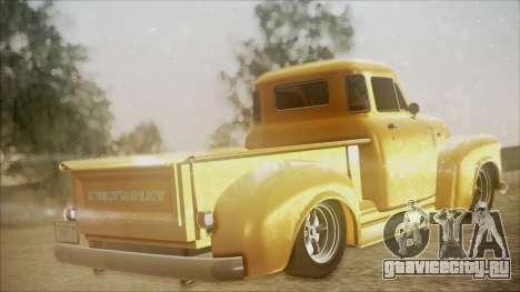 Chevrolet 3100 Truck 1951 для GTA San Andreas вид слева