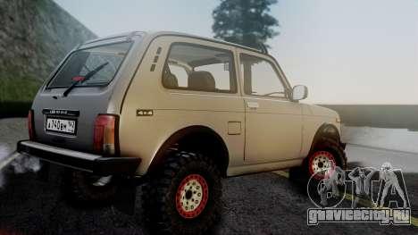 ВАЗ 2121 Нива 4x4 для GTA San Andreas вид слева