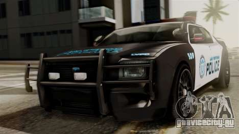 Hunter Citizen from Burnout Paradise Police LV для GTA San Andreas