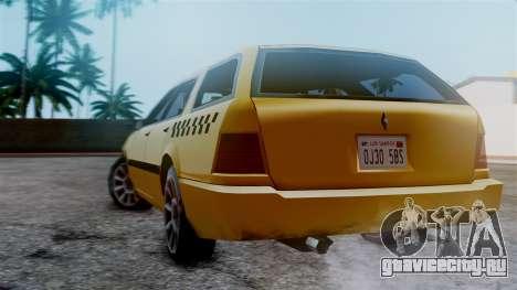 Stratum Taxi для GTA San Andreas вид слева