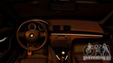 BMW 1M E82 v2 для GTA San Andreas вид справа