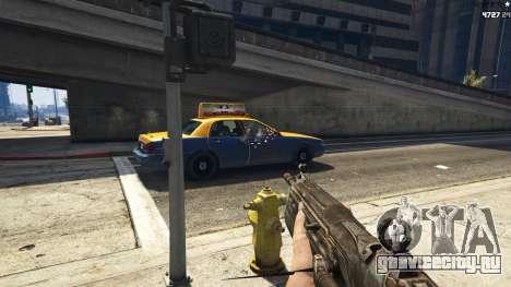Gears of War Lancer 1.0.0 для GTA 5 третий скриншот
