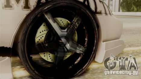 Toyota Supra Full Tuning для GTA San Andreas вид сзади слева