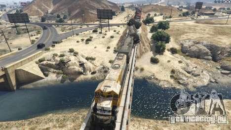 Improved freight train 3.8 для GTA 5 третий скриншот