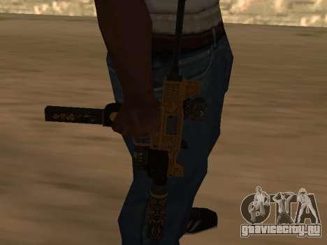 Micro SMG для GTA San Andreas второй скриншот