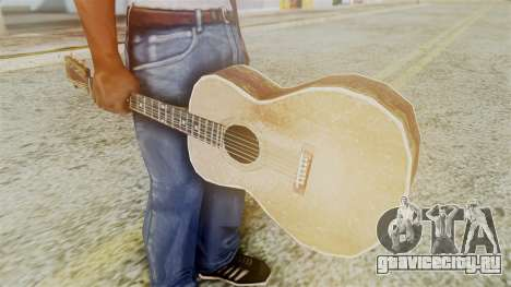 Red Dead Redemption Guitar для GTA San Andreas второй скриншот