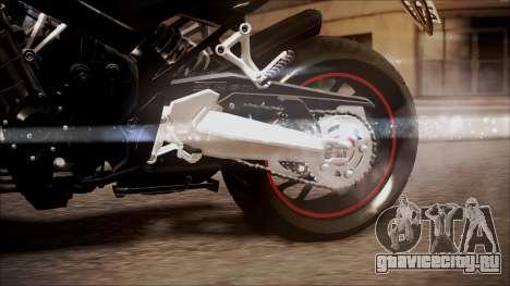 Honda CB650F Pretona для GTA San Andreas вид справа