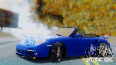 Porsche 911 2010 Cabrio для GTA San Andreas