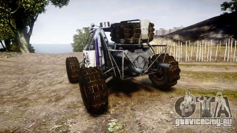 Buggy Fireball для GTA 4 вид сзади слева