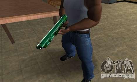 Green Guy Shotgun для GTA San Andreas второй скриншот