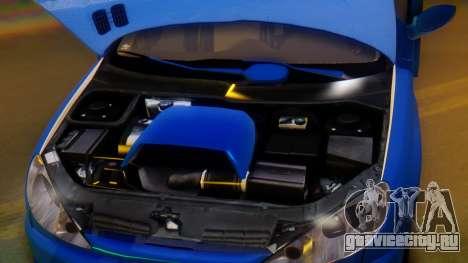 Peugeot 206 Full Tuning для GTA San Andreas вид сверху