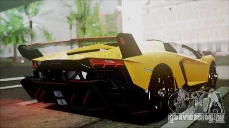 Lamborghini Veneno LP700-4 AVSM Roadster Version для GTA San Andreas вид сзади слева