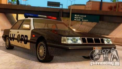Police LV Intruder для GTA San Andreas