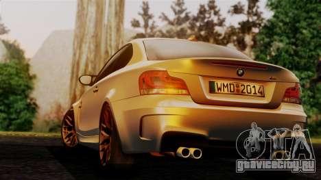 BMW 1M E82 v2 для GTA San Andreas вид слева