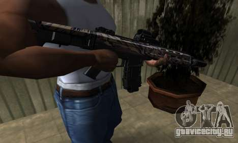 M4A1 для GTA San Andreas второй скриншот