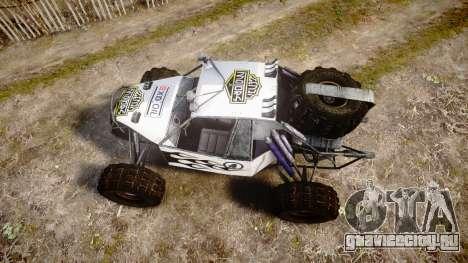 Buggy Fireball для GTA 4 вид справа