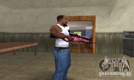 Lamen Sniper для GTA San Andreas второй скриншот