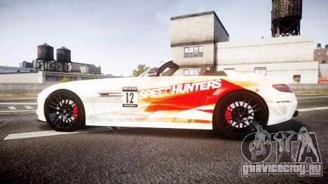 Mercedes-Benz SLS AMG для GTA 4 вид слева