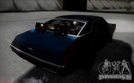 BTTF1-Clover для GTA San Andreas вид сзади слева