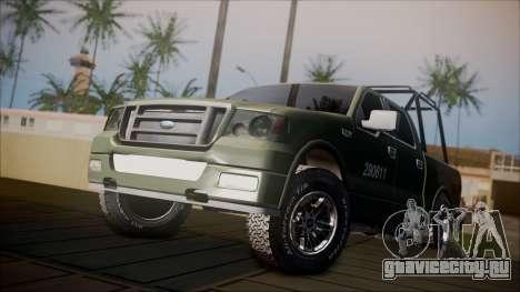 Ford F-150 Military MEX для GTA San Andreas