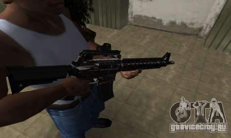 Brighty Leopard M4 для GTA San Andreas