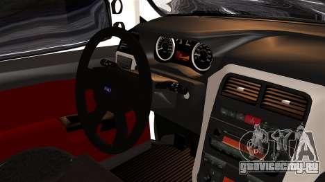 Fiat Doblo PPX для GTA San Andreas вид справа