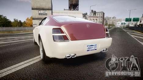 GTA V Enus Windsor для GTA 4 вид сзади слева