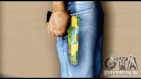 Brasileiro Pistol для GTA San Andreas третий скриншот
