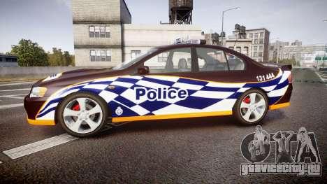 Ford Falcon BA XR8 Highway Patrol [ELS] для GTA 4 вид слева