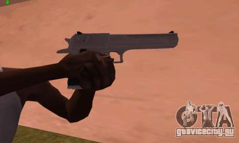 Deagle from Battlefield Hardline для GTA San Andreas