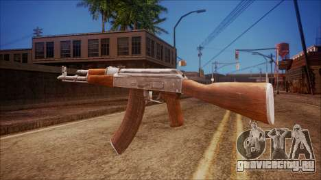 AK-47 v6 from Battlefield Hardline для GTA San Andreas второй скриншот