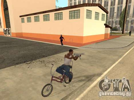 Manual Driveby для GTA San Andreas третий скриншот