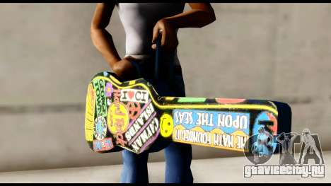 Guitar Case MG Colorful для GTA San Andreas третий скриншот