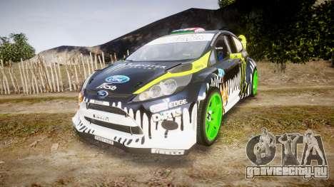 Ford Fiesta Gymkhana 3 Ken Block для GTA 4