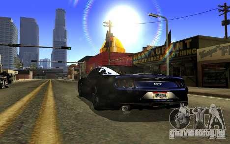 Zolta ENB для GTA San Andreas третий скриншот