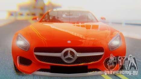 Mercedes-Benz SLS AMG GT для GTA San Andreas вид сзади